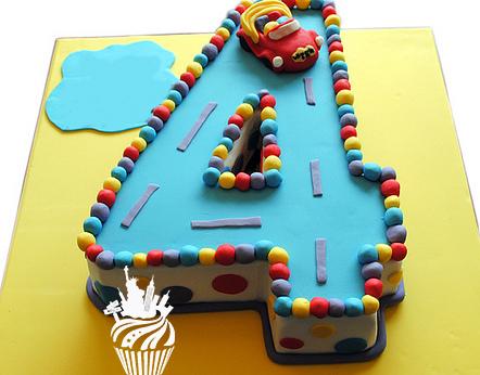 Тортик на 4 годика фото